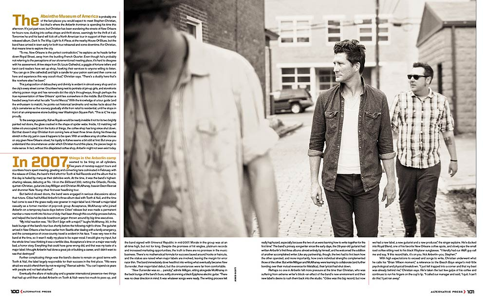 Anberlin Feature | Alternative Press Magazine