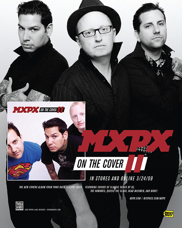 On the Cover II Ad | Alternative Press Magazine