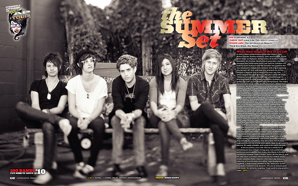 The Summer Set | Alternative Press Magazine