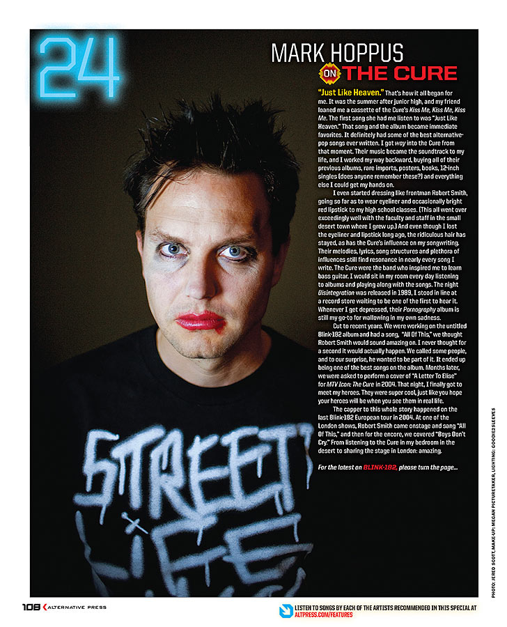 Mark Hoppus | Alternative Press Magazine