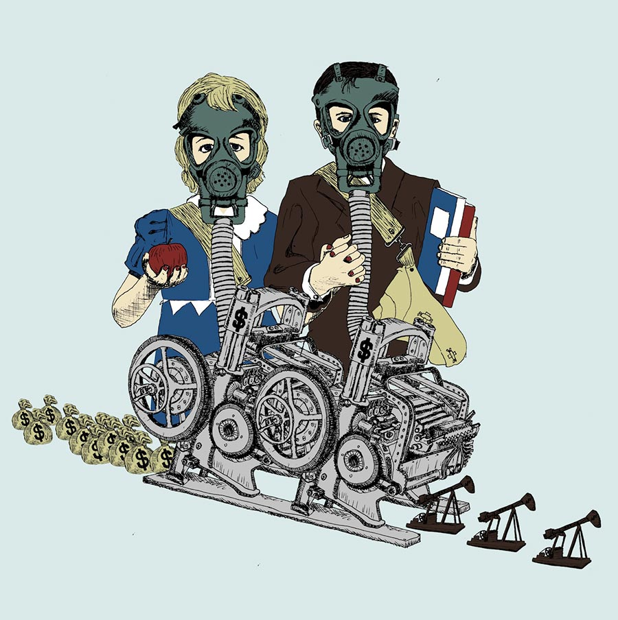 Gas Masks Shirt Design