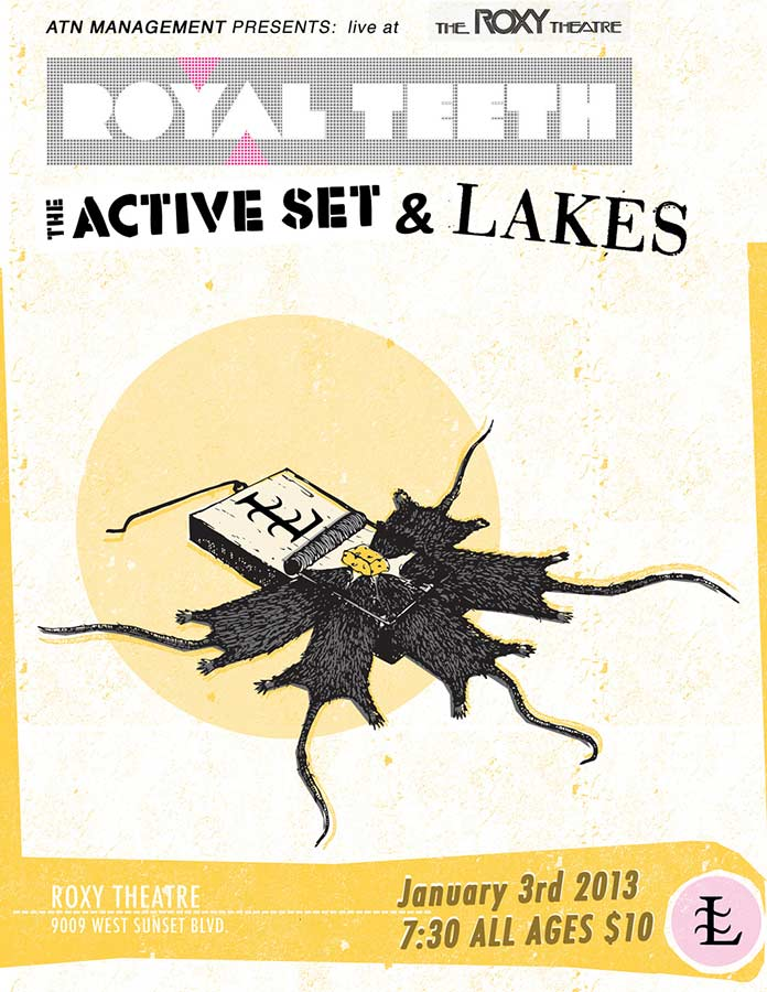 Concert poster | Lakes