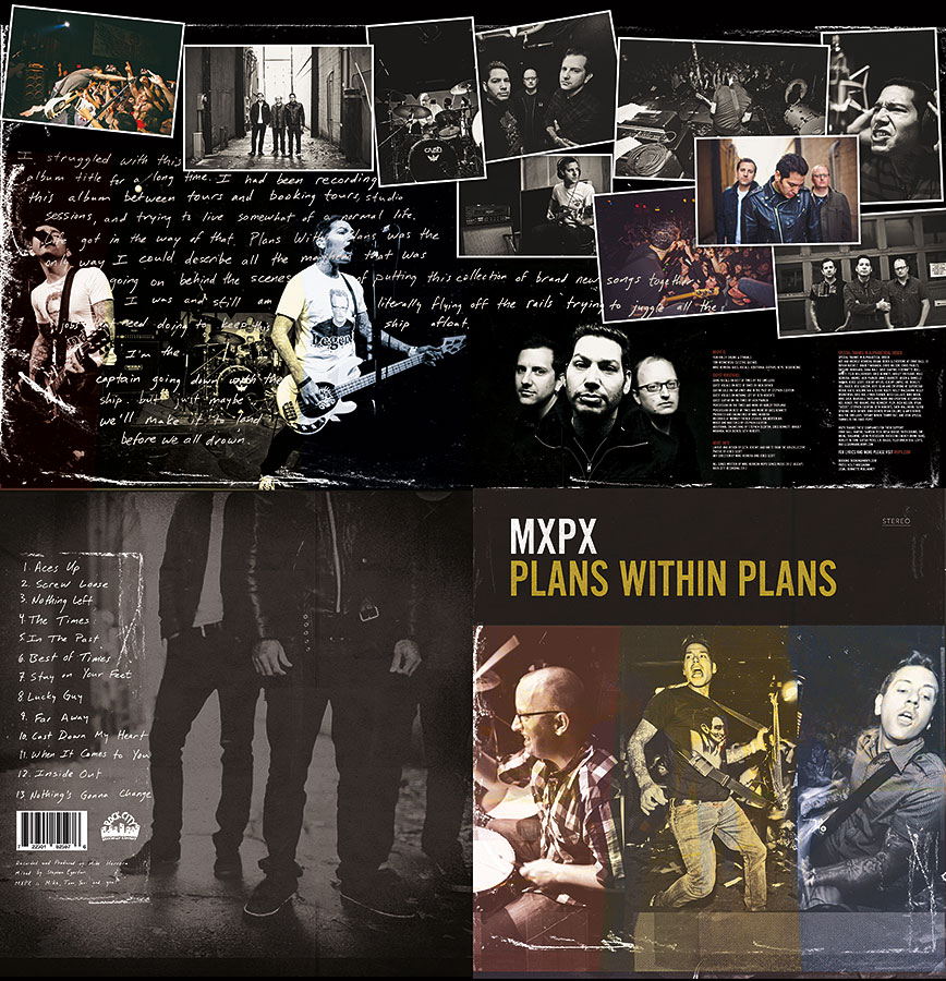 Plans Within Plans vinyl photos | MxPx