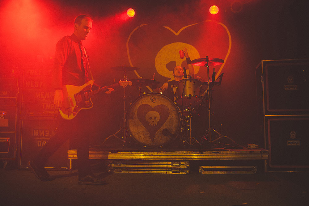 Alkaline Trio | Pomona | The Glasshouse
