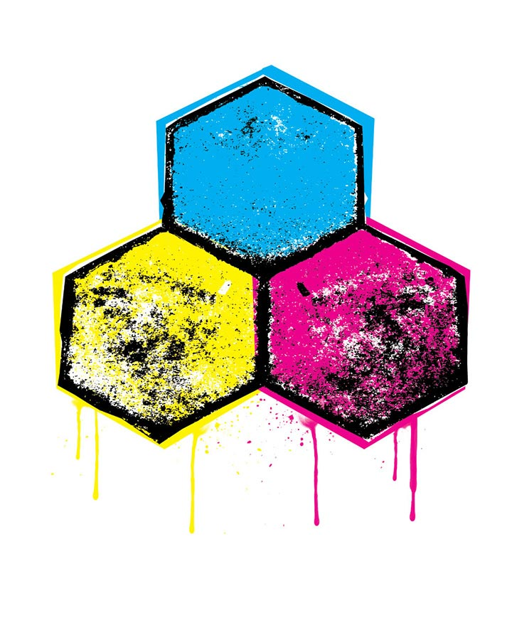 CMYK Shirt Design | Channel Islands