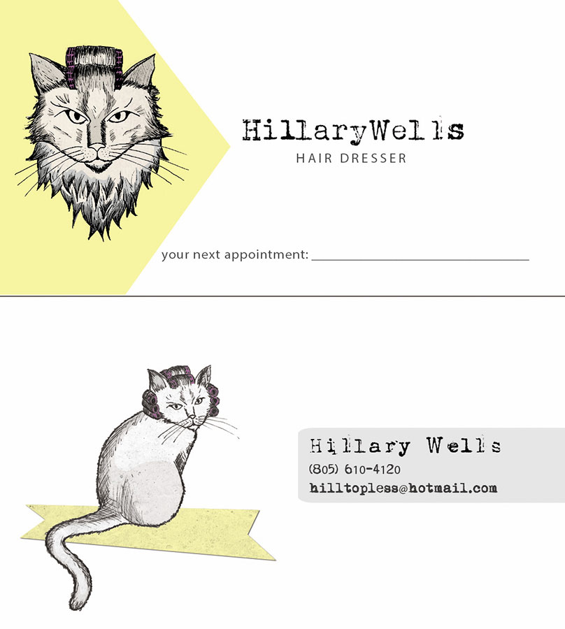 Hillary Wells | Business Card