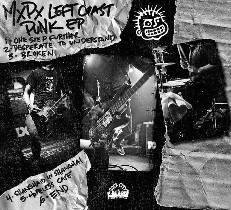 Left Coast Punk EP album photos | MxPx