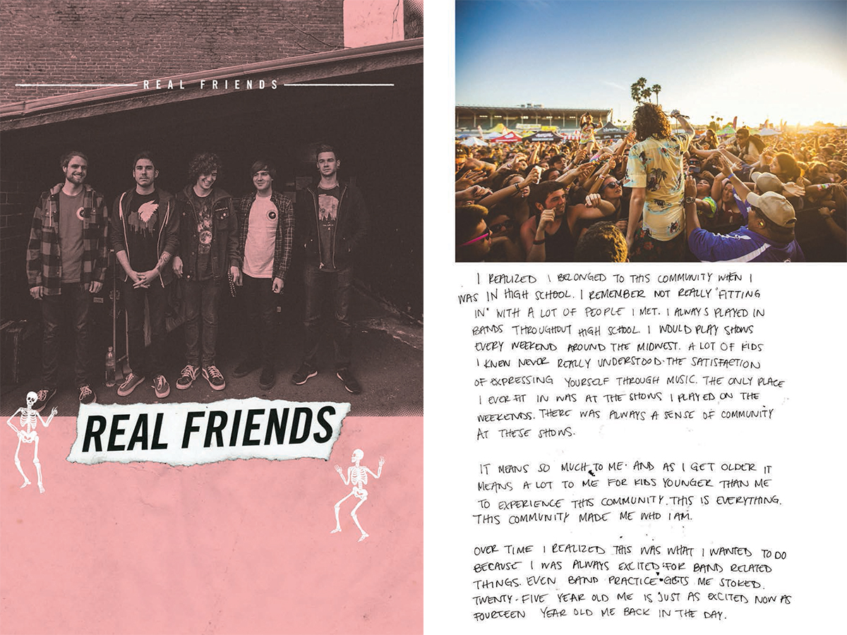 Glamour Kills Zine | Real Friends